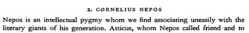 De Æmilio Probo et Cornelio Nepote