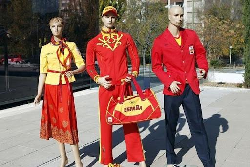 Spanish Olympic clothing 001
